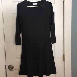 Calvin Klein Cute basic knit dress L.